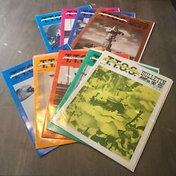 The Bulletin Toy Train Operating Society Lot Of 9 Magazines Model Trains 1977