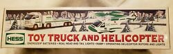 2006 Hess Truck And Helicopter 31 Individual Working Lights