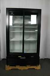 Ding And Dent Beverage Air Mt49-1-sdb Two Section Refrigerated Merchandiser