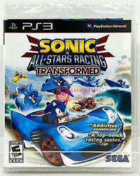 Sonic And All-stars Racing Transformed - Ps3 - Brand New | Factory Sealed