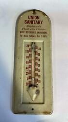 Middletown, Ohio - Union Sanitary Dry Cleaners Advertising Thermometer