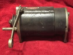 Delco-remy Aircraft Generator Core P/n 1101057 Vintage