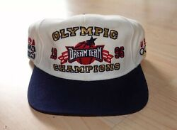 Vintage 90s USA Olympic Rings Starter Snapback Dream Team Hat