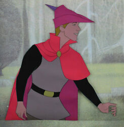 Phillip Original Production Cel Sleeping Beauty 1959 Disney Rare