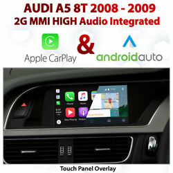 Audi A5 2g Mmi High - Touch Overlay Apple Carplay And Android Auto Integration