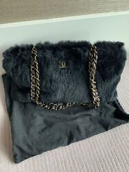 Authentic Designer Chanel Limited-edtion Fur Bag  As New