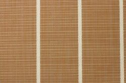 Marine Woven Vinyl Teak And Ivory / Pontoon / Boat Flooring W/ Padding 8.5and039x28and039