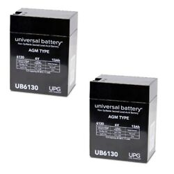 2pk 6v 13ah Replacement Battery For Siemens Medical Systems Lem Portable Xray
