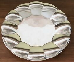 Vintage Andco Sterling Silver Server Tray 22929 Mid Century Modern Design
