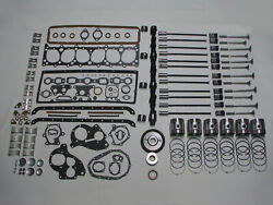 Deluxe Engine Rebuild Kit 1937-1939 Chevrolet 216 6-cyl 37 38 39 Chevy Pistons