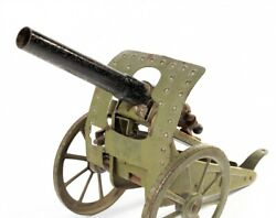 Very Nice Vintage Metal Toy Gun/cannon By Alev Germany.
