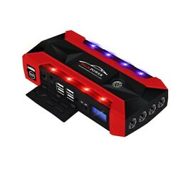 89800mAh Multifunctional Jump Starter USB Emergency Start Power with Safety