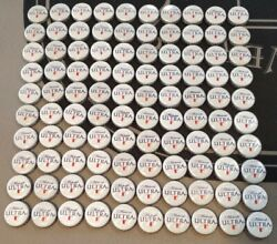 Lot Of 300 Michelob Ultra Bottle Caps