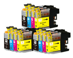 Lc103 Xl Ink Cartridges For Use In Brother Mfc-j475dw Mfc-j650dw Mfc-j6720dw