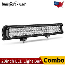 20inch 126w Led Work Light Bar Combo Driving Offroad 4wd Ford Truck Atv Ute 22