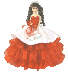 22 Mexican Charra Rose Quinceanera Doll