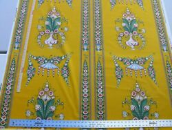 30.5yd Scalamandre Bouquet Chinois Gw Marigold Yellow Chinoiserie Msrp200++