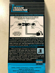1 - T Connect Connector Trailer Lights 44750 Ford 1994 - 1987 Fullsize Pickup