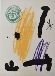 Joan Miro - Composition Viii From Recent Unpublished Works