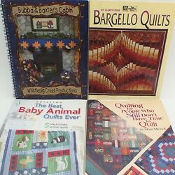 4 Quilt Making Craft Book Lot Quilting Pattern Block Patch Work Idea Tip Guide 2