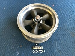 Rare Single 1 Vintage Real Torque Thrust D Wheel 15x7 4 1/2 Ford Mopar Crow
