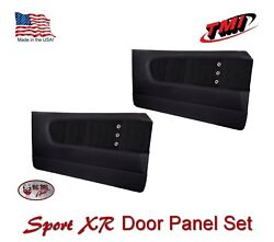 1964 - 66 Mustang Sport Xr Molded Door Panel Set - Custom Made By Tmi In The Us