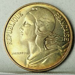 1963 France 20 Centimes  Brilliant Uncirculated