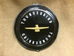 1963 Thunderbird Full Wheel Cover And Wire Wheel Cover Cap Nos Plastic Emblem