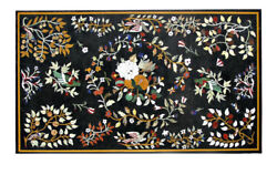 48 X 32 Table Top Marble Pietra Dura Inlay Work Handmade Home Decor And Gifts