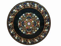 48 Coffee Center Table Top Marble Inlay Pietra Dura Art For Home Decor Gift