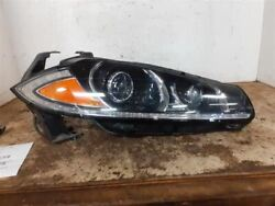 Passenger Headlight Xenon Hid Without Adaptive Headlamps Fits 12-15 Xf 1591066