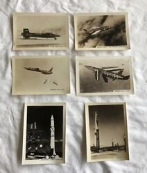 Lot 6 Northrop Douglas Vought Nike Missile X-15 1950andrsquos B And W Photo 5 X 3.75andrdquo