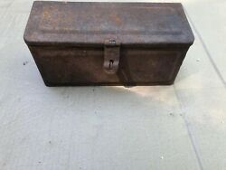 Fordson Tractor Tool Box 2 Vintage Antique