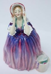 The Choice Hn1960 Rare Royal Doulton Lady Figurine-hard To Find