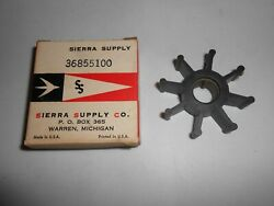 36855100 New Scott Atwater Mcculloch Outboard Water Pump Impeller Lot E5-5