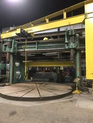 BirdsBoro Vertical Boring Extension Mill 18'24' With 16' Turn Table