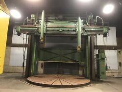 Sellers Vertical Boring Mill 18'24' With 20' Turn Table Heavy Duty