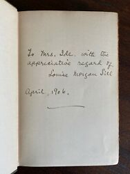 In Sun Or Shade Signed / Inscribed First Edition Poems By Louise Morgan Sill 1st