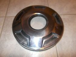 73-87 Chevy Truck Front 4 Wheel Drive Dog Dish Hubcap 8 Lug Wheels Oem 1pc.only