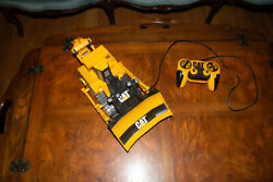 Cat Bulldozer Toy State Industries Battery Operated Caterpillar Tracked Equip.