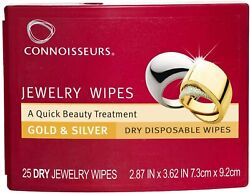 Connoisseurs Jewelry Wipes for Gold and Silver $9.99