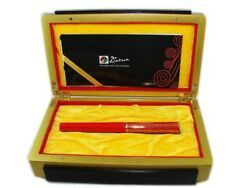 Picasso 14k Golden M Nib Limited Edition Fountain Pen, Collection Pen Gift Case
