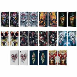 Official Riza Peker Skulls 9 Leather Book Wallet Case Cover For Apple Ipad