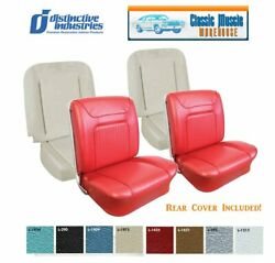 1964 Impala Ss Convertible Front Bucket Seat Upholstery And Bucket Seat Foam