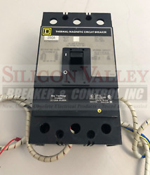 Square D Kaf362502330 W/ 48vdc Shunt Trip And Auxiliary Switch 1a1b And Alarm Switch