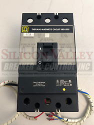 Square D Kaf361752330 W/ 48vdc Shunt Trip Alarm Switch And Auxiliary Switch 1a1b