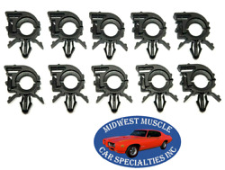 Chrysler 11/32 Id 1/2 Od Engine Wiring Harness Loom Routing Clamp Clip 10pc St