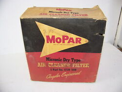 1957 1958 Plymouth Dodge Desoto Air Cleaner Filter Nos 1739549
