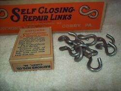 Vintage Nos Raylinks Auto Chains Repair Links Raymond Mfg. Corry Pa 2 Boxes