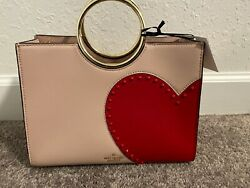 Kate Spade Heart It SAM BagNWT Red HEART Leather Valentine 25th Anniversary $325.00